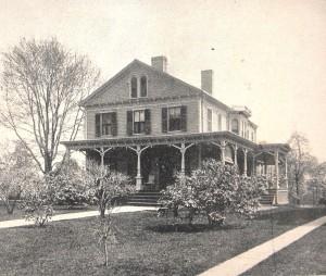 R. D. Hubbard residence (photo: Connecticut Quarterly 1895)