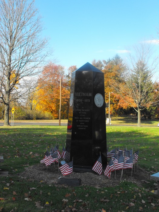 Vietnam War Memorial Nov 2013 facing northeast
